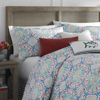 Dory Lane Square Throw Pillow | Southern Tide