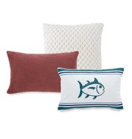 Dory Lane Lumbar Throw Pillow | Southern Tide