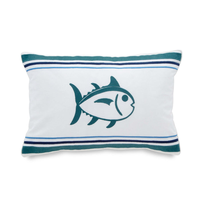 Dory Lane Skipjack Throw Pillow