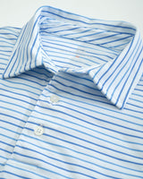 Driver Multi Striped Performance Polo Shirt | Southern Tide