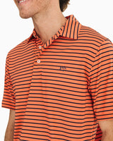 Driver Striped Performance Polo Shirt | Southern Tide
