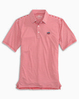 Driver USA Striped Performance Polo Shirt | Southern Tide