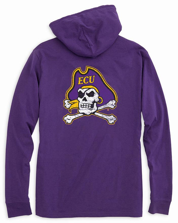 East Carolina Long Sleeve Hoodie T-Shirt