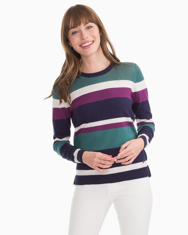 Esme Crew Neck Sweater | Southern Tide