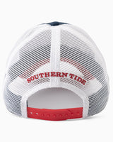 Faded Flag Patch Trucker Hat | Southern Tide
