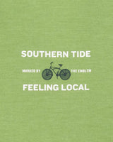 Feeling Local Bike Long Sleeve T-Shirt | Southern Tide