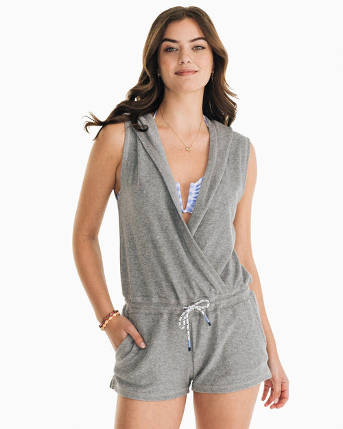 Filippa Cover Up Romper | Southern Tide