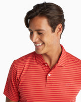 First Mate Striped Performance Polo Shirt | Southern Tide