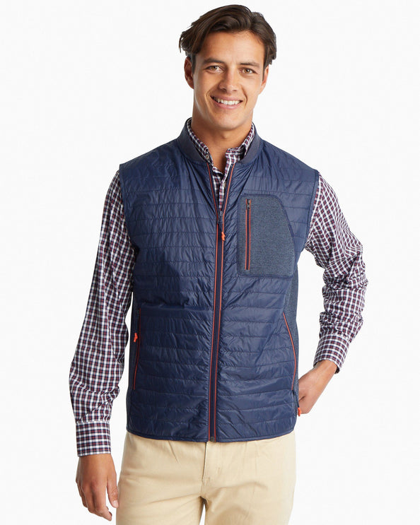 Forrest Creek Quilted Bomber Vest