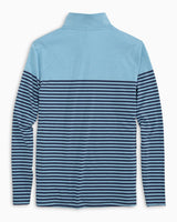 Front Street Striped Performance Quarter Zip Pullover | Southern Tide