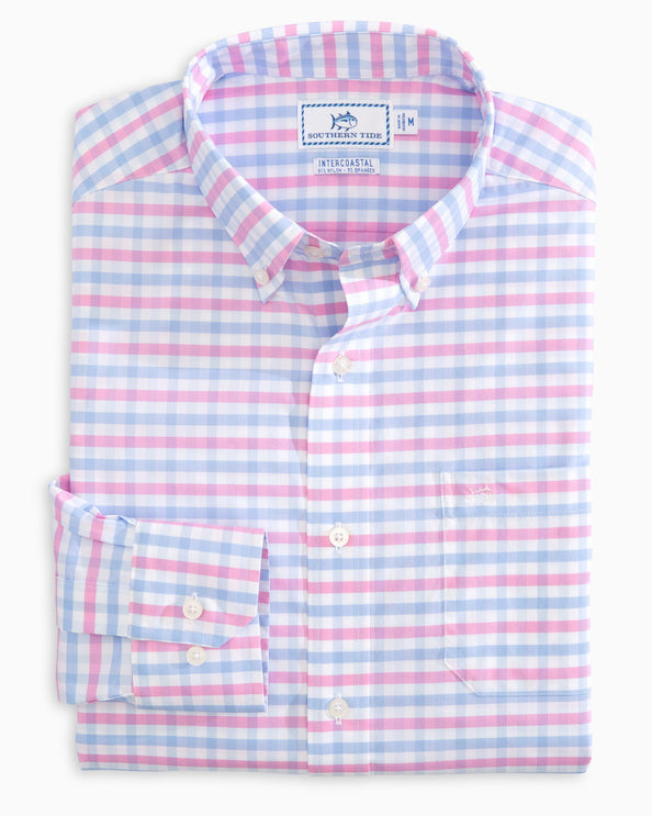 Fuskie Tattersall Intercoastal Sport Shirt