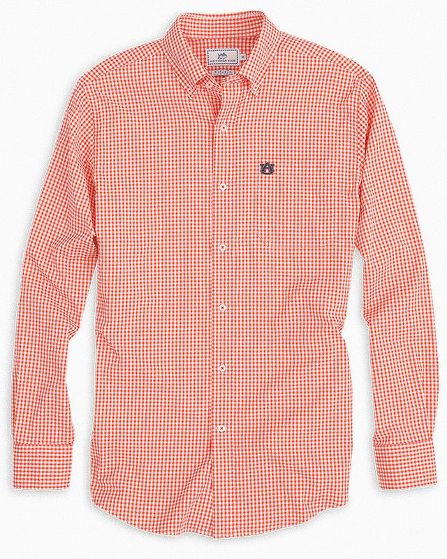Auburn Tigers Gingham Button Down Shirt | Southern Tide