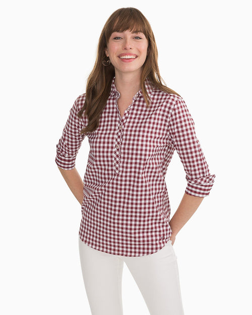 Gameday Intercoastal Hadley Popover Shirt | Southern Tide