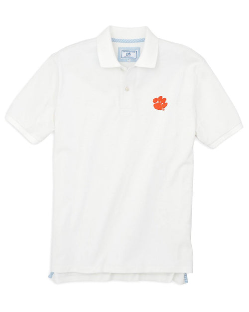 Clemson Tigers Pique Polo Shirt | Southern Tide