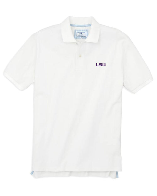 LSU Tigers Pique Polo Shirt | Southern Tide