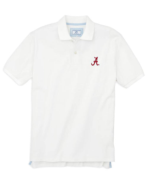 Alabama Crimson Tide Pique Polo Shirt | Southern Tide