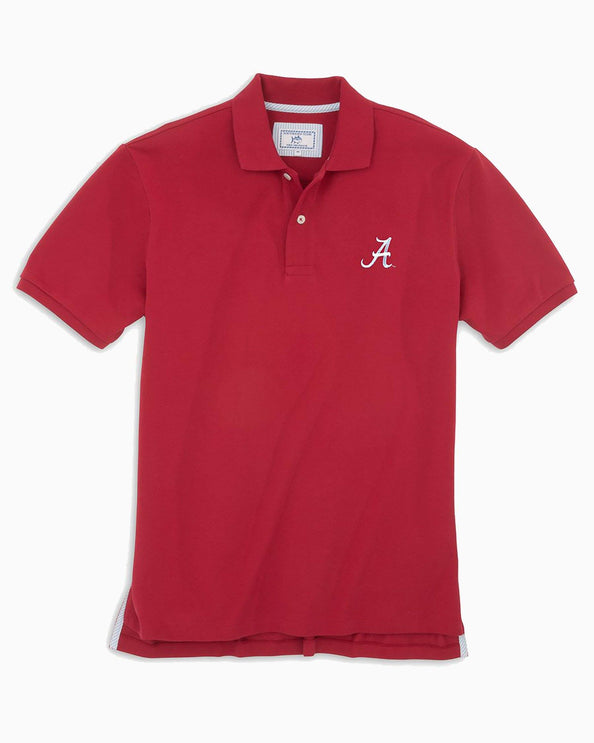 Alabama Crimson Tide Pique Polo Shirt