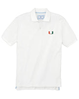 Miami Hurricanes Pique Polo Shirt | Southern Tide
