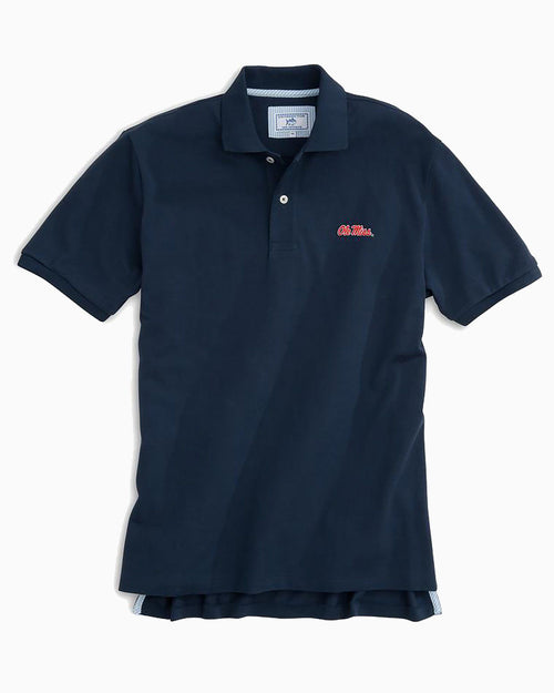 Ole Miss Pique Polo Shirt | Southern Tide