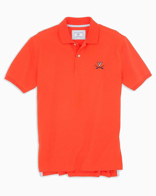 UVA Cavaliers Pique Polo Shirt | Southern Tide