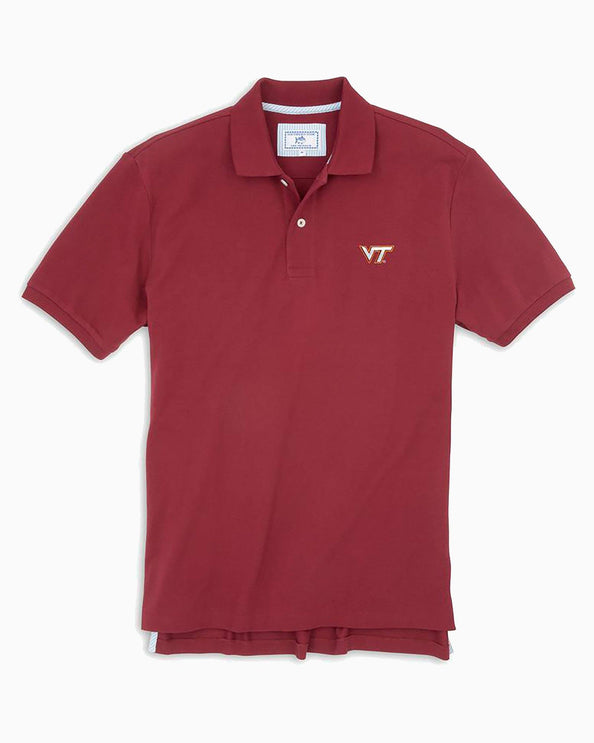 Virginia Tech Hokies Pique Polo Shirt