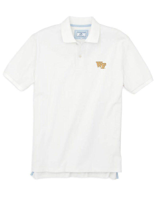 Wake Forest Pique Polo Shirt | Southern Tide