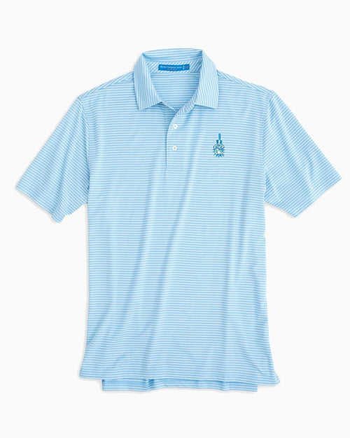 Citadel Bulldogs Striped Polo Shirt | Southern Tide