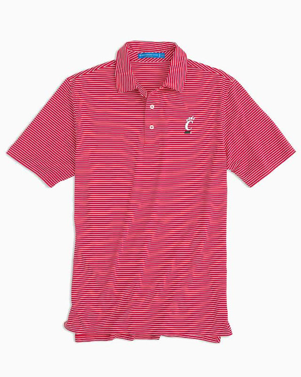Cincinnati Striped Polo Shirt