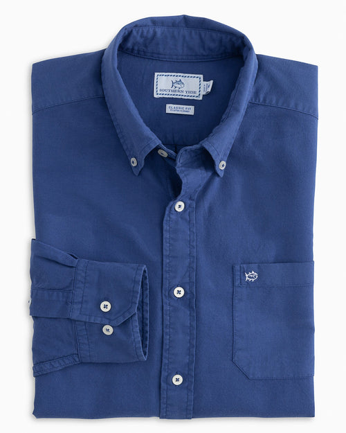 Garment Dyed Oxford Sport Shirt | Southern Tide