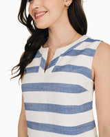 Hallie Striped Dress | Southern Tide