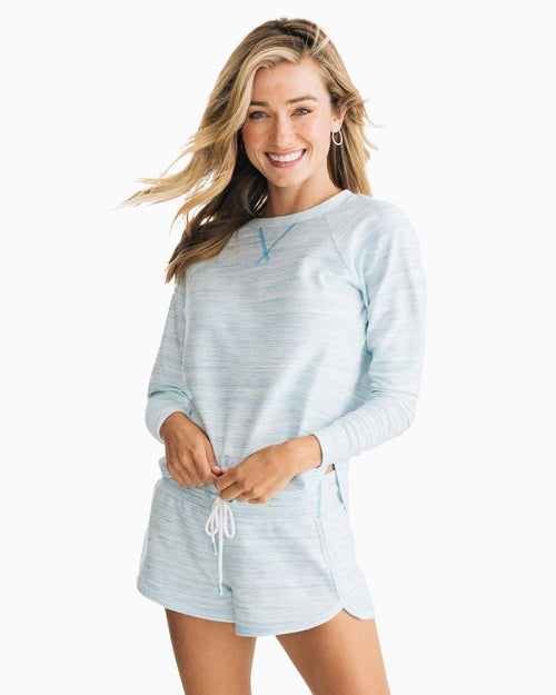 Hayden Long Sleeve Lounge Top | Southern Tide