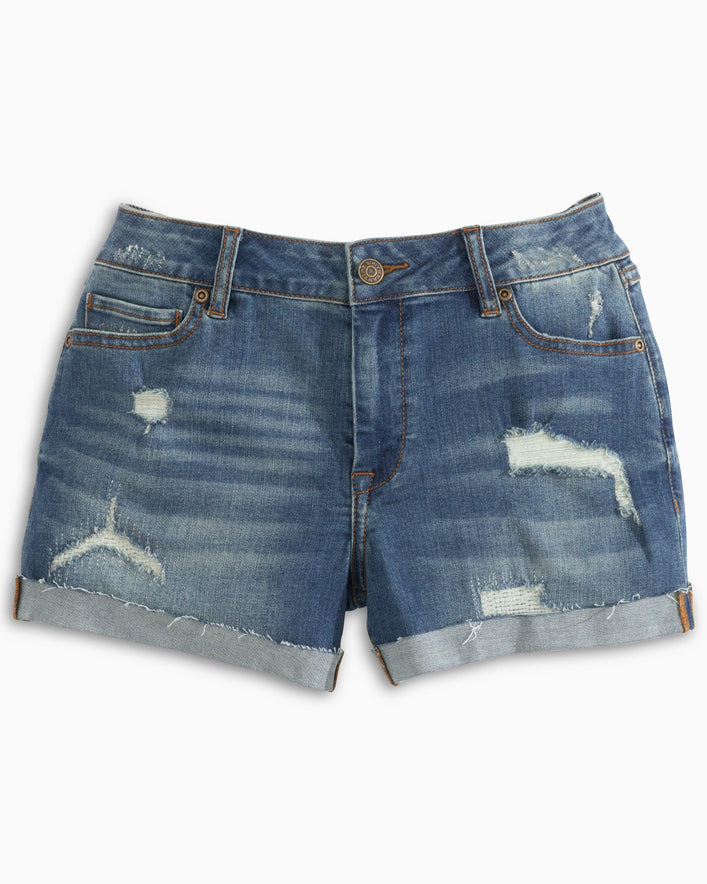 Hayes Distressed Denim Short