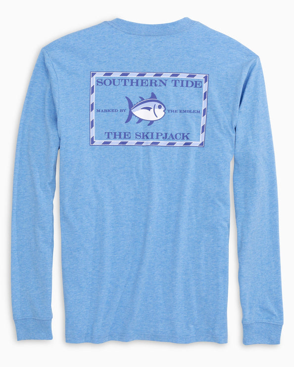 Heathered Original Skipjack Long Sleeve T-shirt