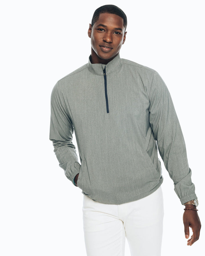 Intercoastal Heathered Quarter Zip Pullover