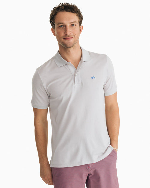 Jack Heather Performance Pique Polo Shirt | Southern Tide