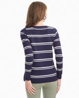 Jessa Striped Pullover Sweater | Southern Tide