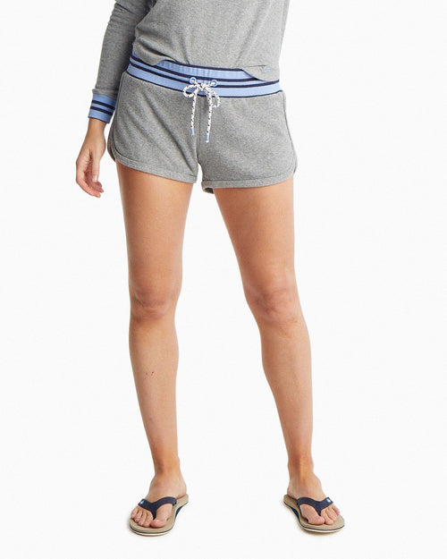 Jodie Heathered Terry Lounge Short | Southern Tide