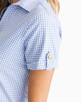 Kamryn brrr® Intercoastal Gingham Shirt Dress | Southern Tide