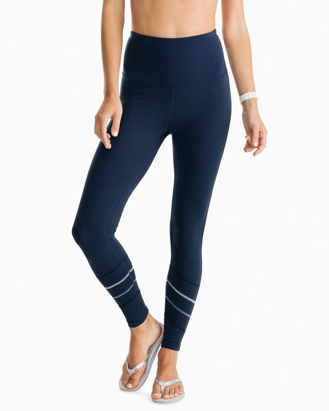 Kayly High Waisted Active Legging | Southern Tide
