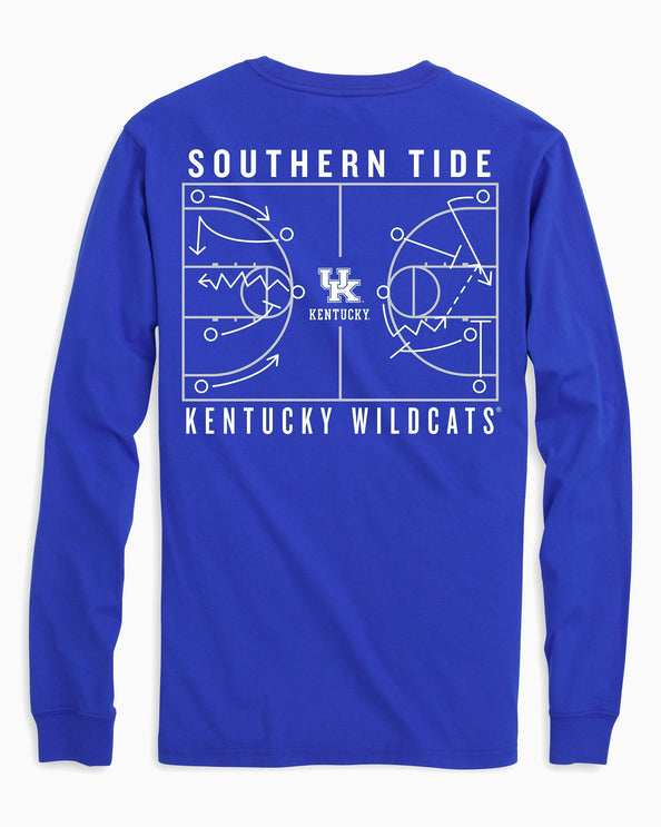 Kentucky Wildcats Long Sleeve Basketball T-Shirt