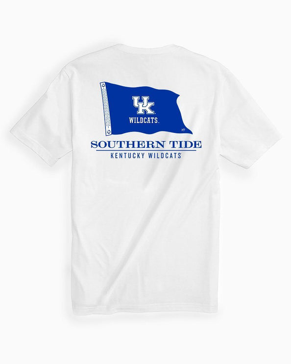 Kentucky Wildcats Short Sleeve Flag T-Shirt