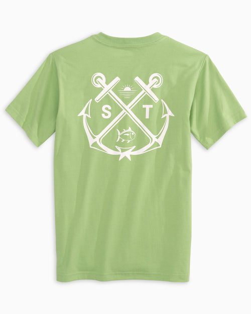 Kids Crossed Anchors T-Shirt | Southern Tide