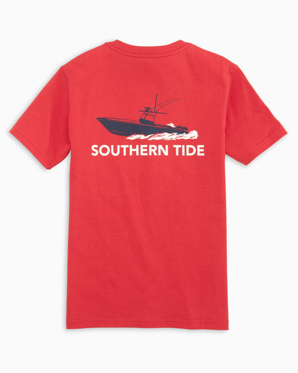 Kids Fishing Boat T-Shirt