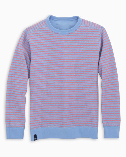 Boys Striped Reversible Upper Deck Pullover | Southern Tide