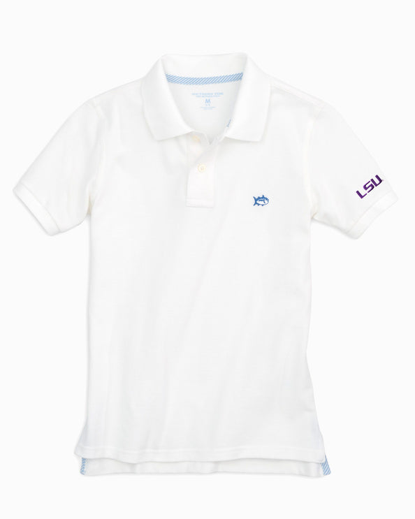 LSU Tigers Boys Polo Shirt