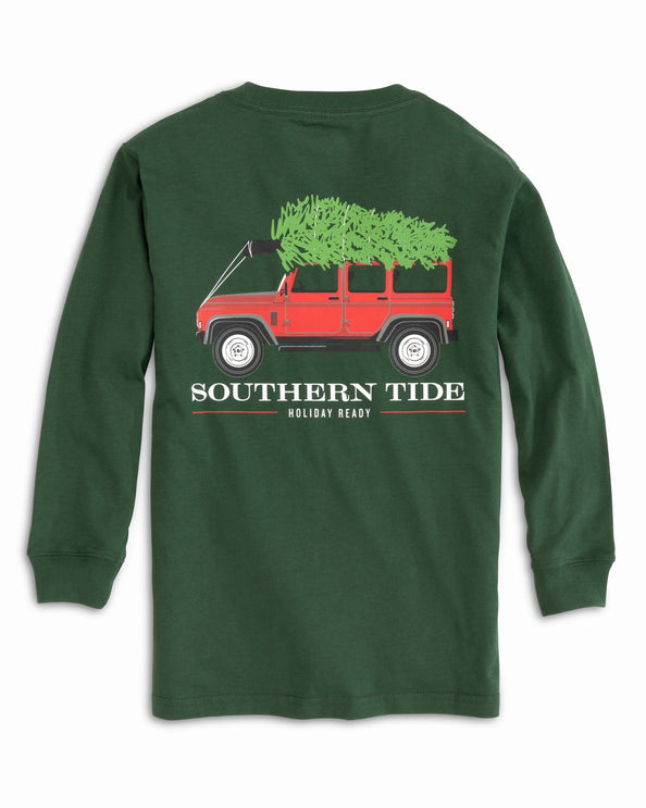 Kids Long Sleeve Holiday Ready T-Shirt