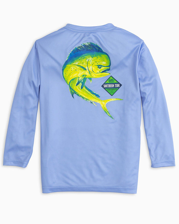 Kids Long Sleeve Mahi Performance T-shirt