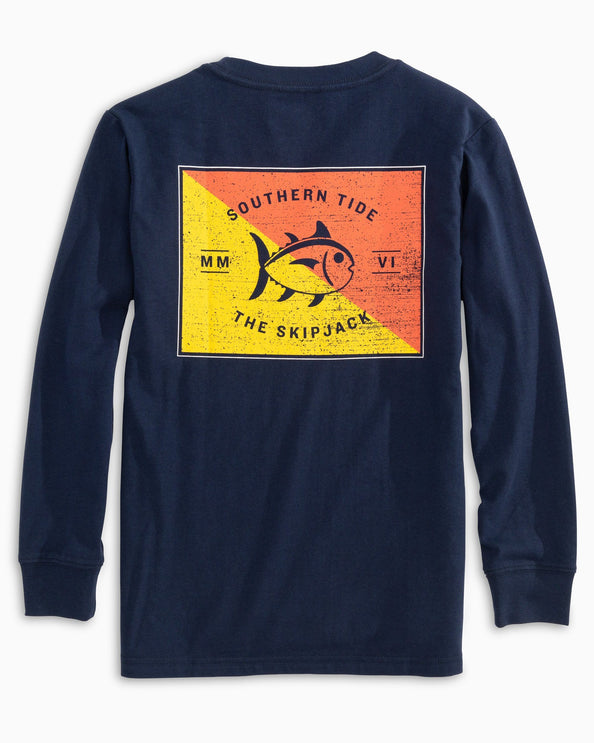 Kids Long Sleeve Overboard T-Shirt