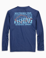 Kids Offshore Fishing Performance Long Sleeve T-Shirt | Southern Tide