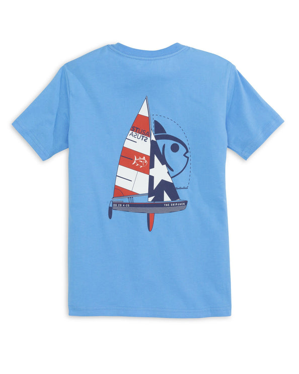 Kids ST USA Sailing T-Shirt